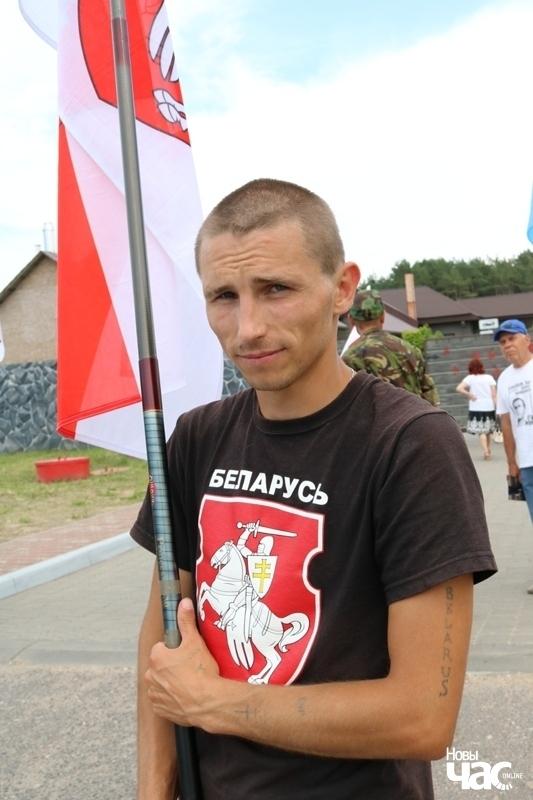 Дзяніс Урбановіч. Фота Алены Ляшкевіч