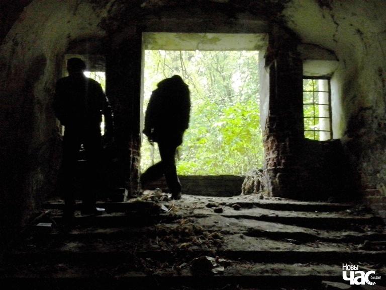 Разрабаваная і знішчаная людзьмі капліца-пахавальня Рдултоўскіх.
