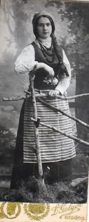 Людвіка Сівіцкая (Зоська Верас), у Варшаве, 1914 г.