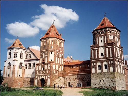 château de Mir bélarus