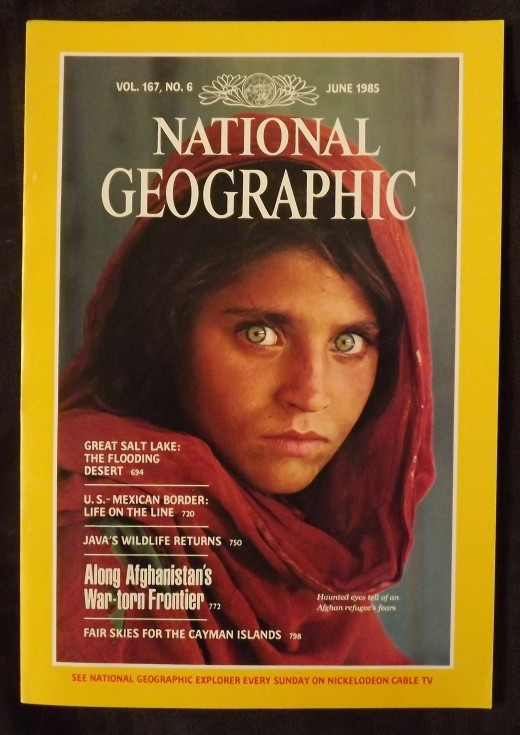 Afghan girl cover