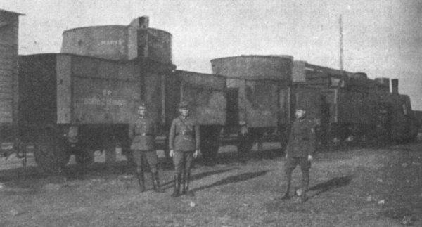 Тры вайны двух бронецягнікоў пад Брэст-Літоўскам