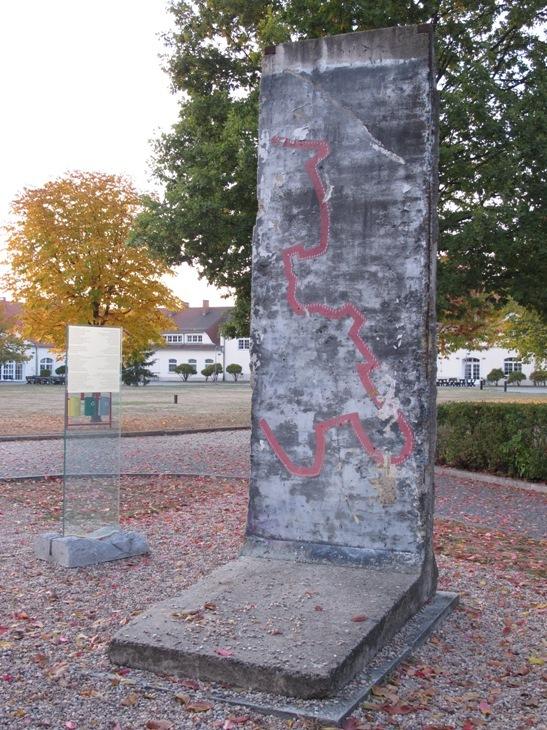 Кшыжова. Кавалак Берлінскага муру