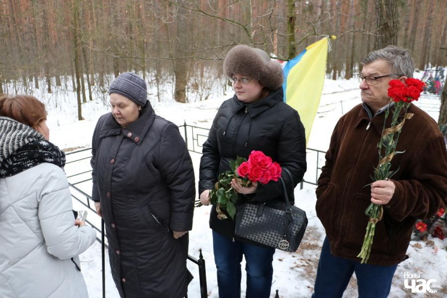 Бацькі загінулага Міхаіла Жызнеўскага
