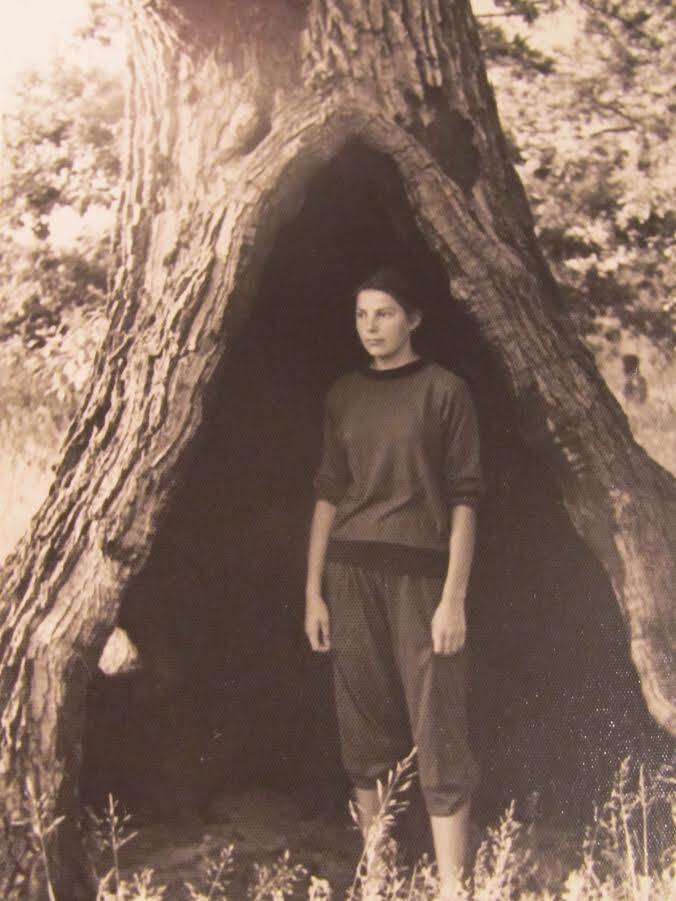 На беразе Убарці —прытоку Прыпяці (Петрыкаў, 1961)